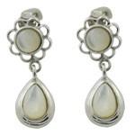 925 Sterling Silver Pearl Design Earring