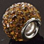 925 Sterling Silver Crystal Pandora Pendant