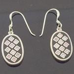 925 Sterling Silver  Enamel  Design style Earring