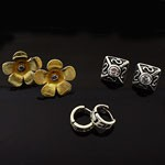 MIX Design and Mix Oxidized 925 Sterling Silver Earring Lot