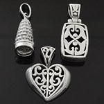 MIX Design Oxidized 925 Sterling Silver  Pendant Lot
